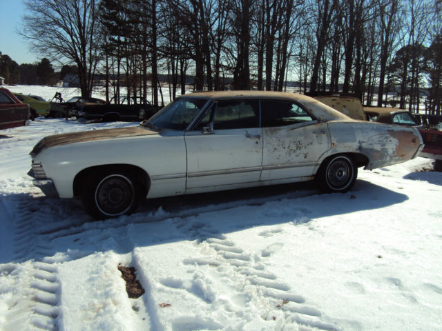 1967 Impala 4 Door Hardtop 67 Supernatural For Sale In