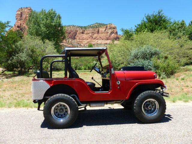 Jeep Cj Chevy L Corvette Engine Period Correct Restomod