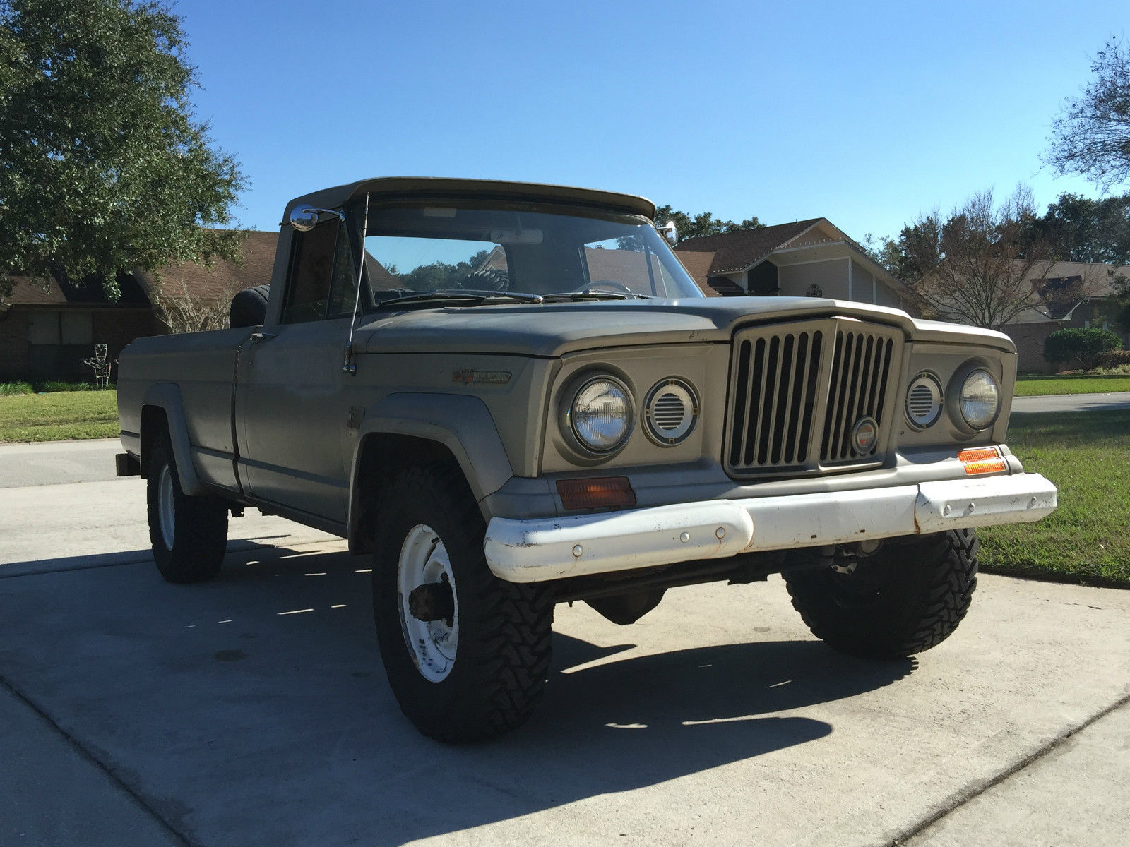 1967 Jeep Gladiator J10 J3000 Pickup Truck Barn Find for