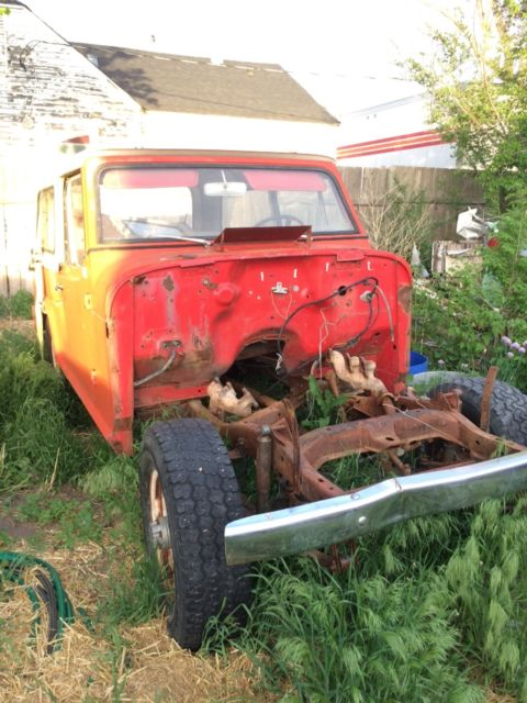 Gmc Truck Parts >> 1967 jeepster commando all body parts included very little ...