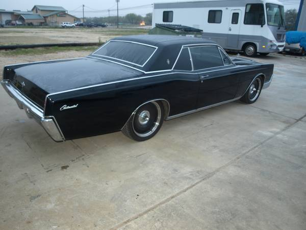 1967 lincoln continental coupe 78k original miles. Black Bedroom Furniture Sets. Home Design Ideas