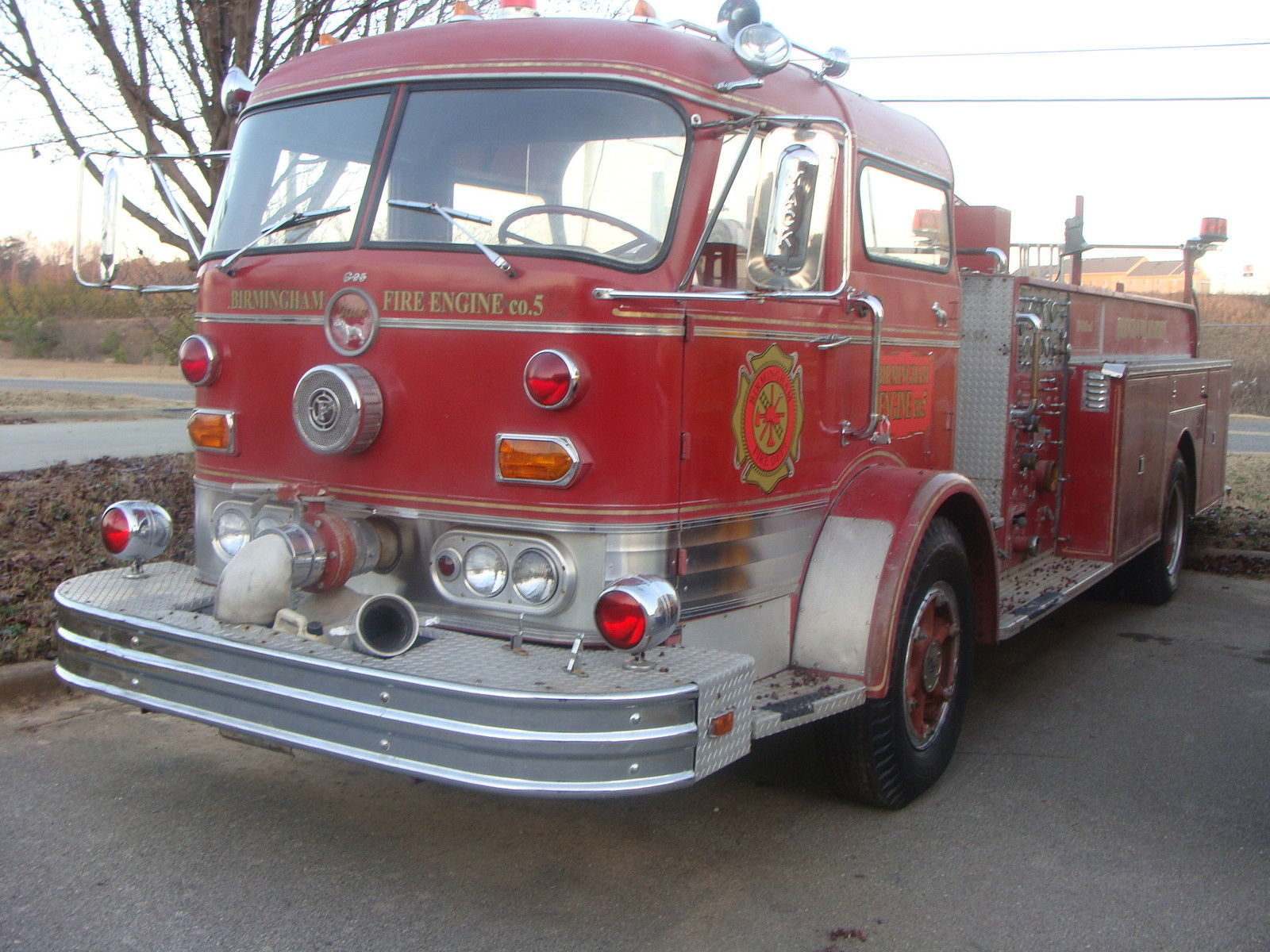 1967 Mack Truck : Mack firetruck for sale in bessemer alabama united