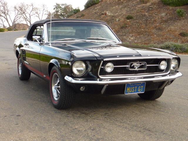 1967 Mustang Convertible GT K-Code Deluxe Interior Triple