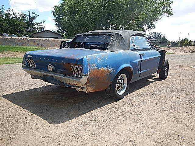 1967 Mustang S Code 390 Bench Seat 4 Speed Acapulco Blue