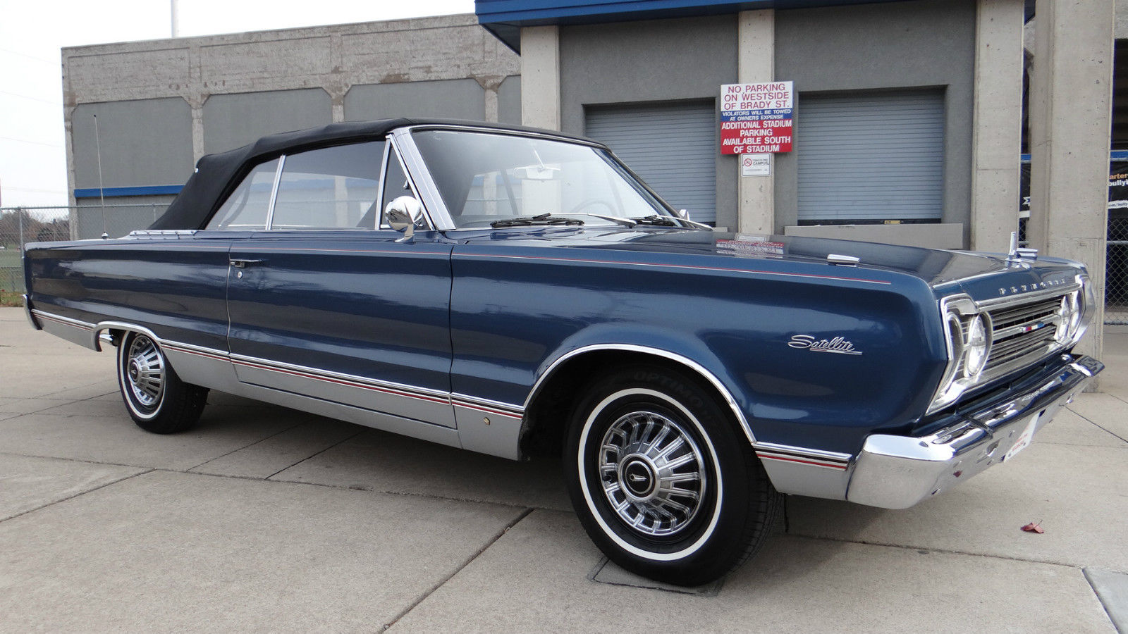 1967 plymouth satellite convertible for sale in davenport. Black Bedroom Furniture Sets. Home Design Ideas