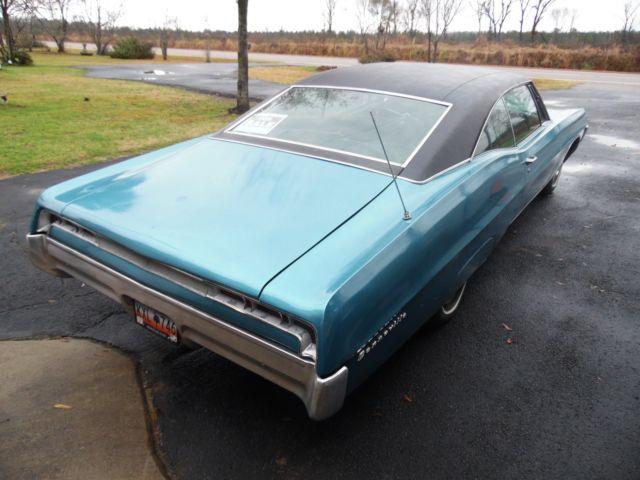 Pontiac Bonneville Door Hard Top Coupe Cubic Inch Horse Power Yf on Pontiac Paint Code Location