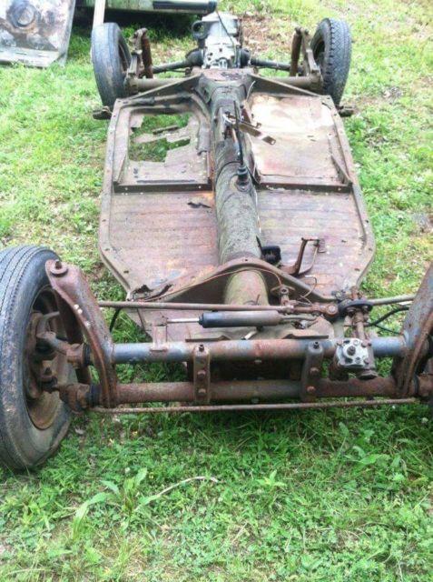1967 Volkswagen Beetle Floor Pan With Title Restoration