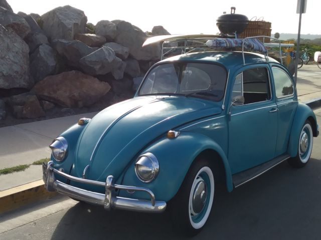 1967 VOLKSWAGEN BEETLE, With Roof Rack and 4 New tires and brand new spare