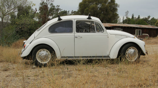 1967 Vw Beetle Bug Rebuilt Engine Trans For Sale In