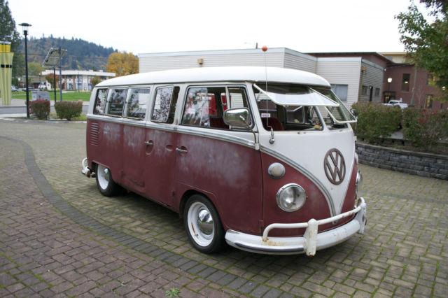 1967 Vw Bus 13 Window Deluxe Kw Barndoor 15 Window 21 Window 23 Window