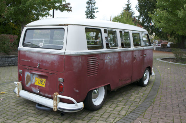 1967 vw bus 13 window deluxe kw barndoor 15 window 21 for 13 window vw bus