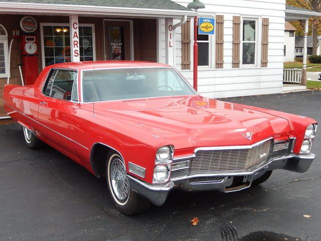 1968 68 Cadillac Coupe DeVille 2-Door 472 V8 * No Reserve