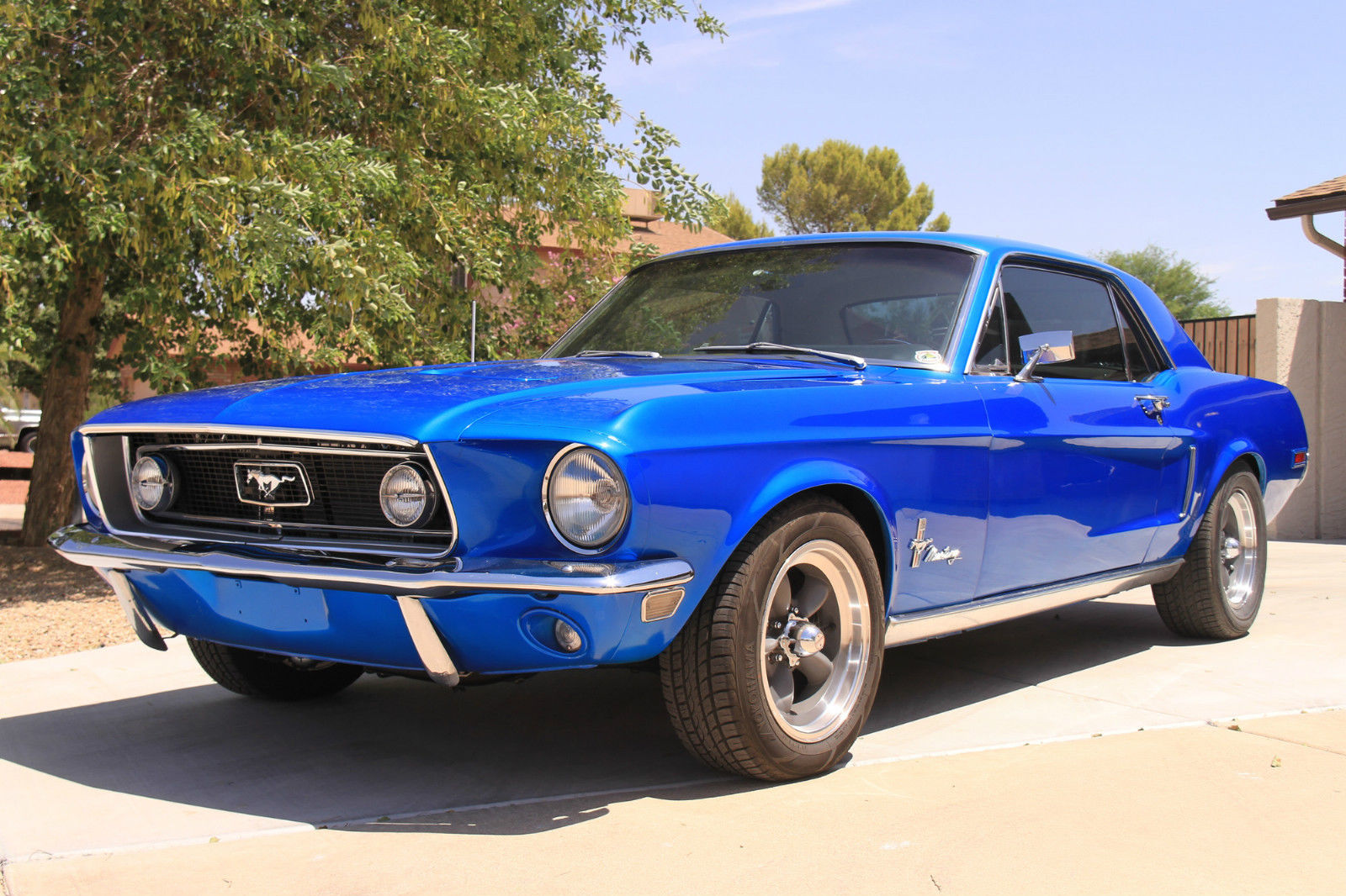 1968 68 Ford Mustang Coupe 347 420hp Classic Custom Hot