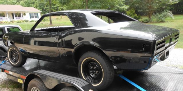1968 68 pontiac firebird clean body good pro touring street hot rod project car for sale in. Black Bedroom Furniture Sets. Home Design Ideas