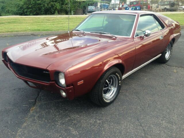 1968 Amc Amx 390 Auto X Code Rare Calcutta Russett For
