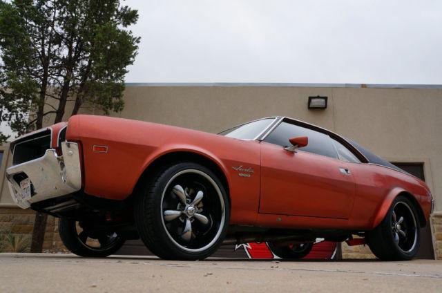 1968 AMC Javelin SST Movie Car RestoMod style like NEW 383