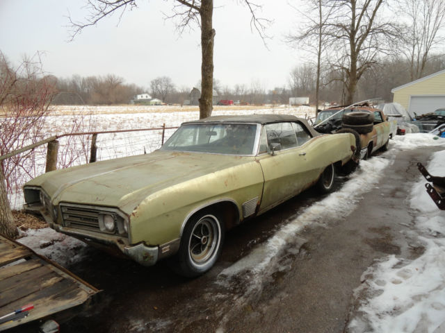 1968 buick wildcat 2 dr convertible complete car needs. Black Bedroom Furniture Sets. Home Design Ideas