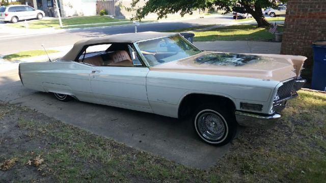 1968 Cadillac Coupe De Ville Convertible Lowrider For Sale