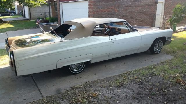 1968 Cadillac Coupe De Ville Convertible Lowrider For Sale