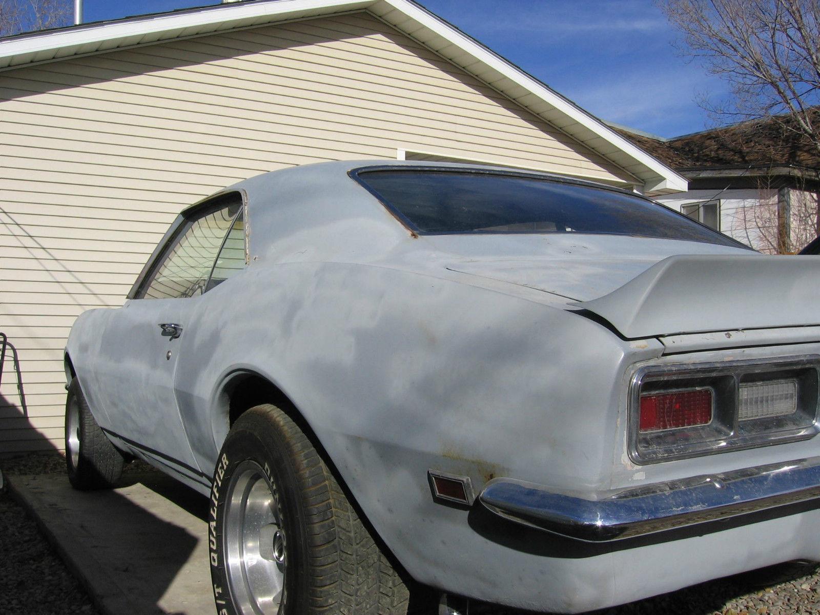 1968 camaro  67 68 69  2 door  hard top  coupe  rear