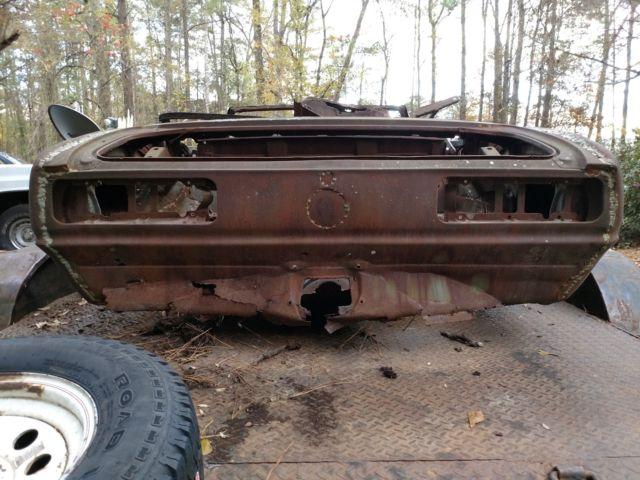 1968 Camaro Convertible SS Tribute Pro Street LS Restoration