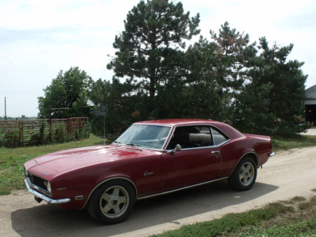 1968 Camaro Hard Top For Sale In Sutton Nebraska United