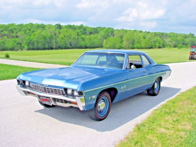 1968 Chevrolet Bel Air 427 425 4 Speed Positraction