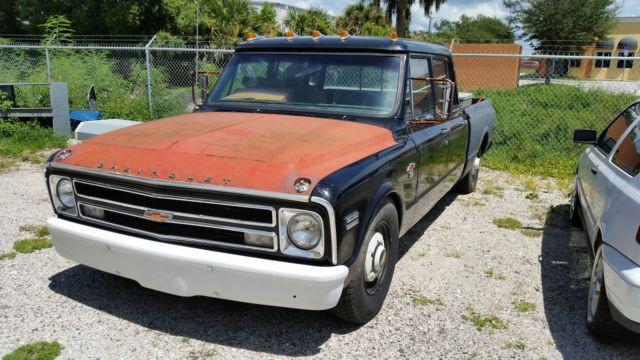 1968 Chevrolet C10 C30 Crew Cab Diesel For Sale In