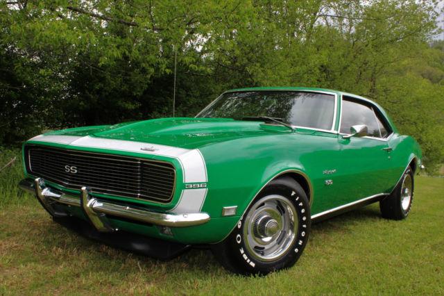 1968 Chevrolet Camaro Rs Ss 396 4 Speed 12 Bolt Ps Pb No