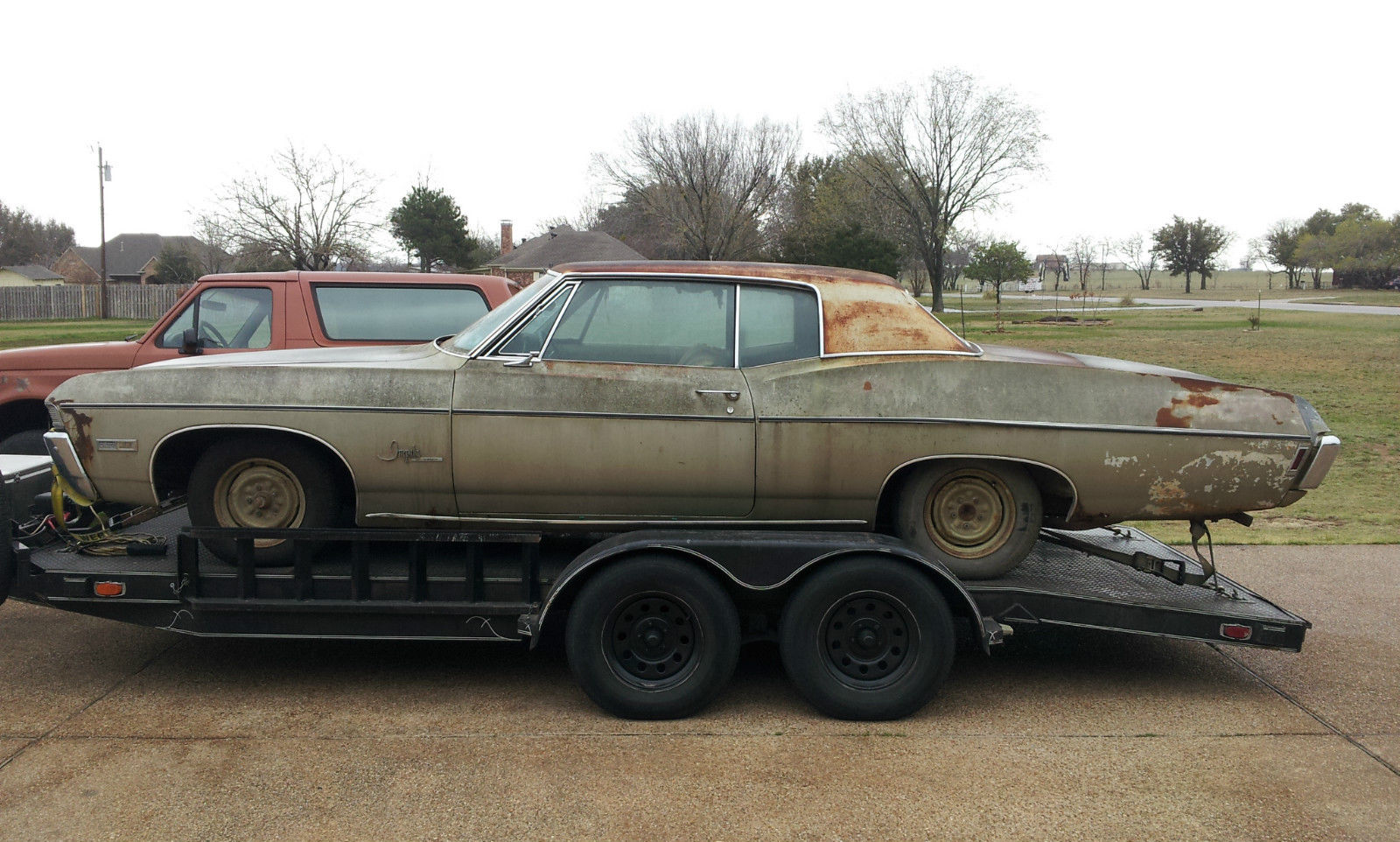 1968 Chevrolet Impala Custom Barn Find True Survivor In