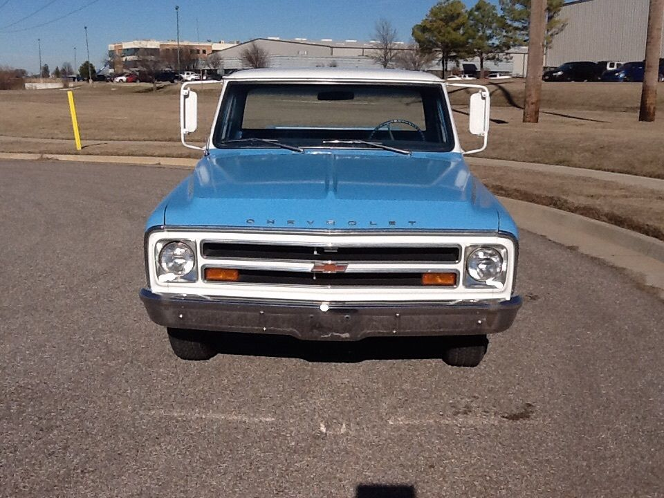 1968 chevy c10 long bed stepside pickup truck rare very original very nice for sale in. Black Bedroom Furniture Sets. Home Design Ideas