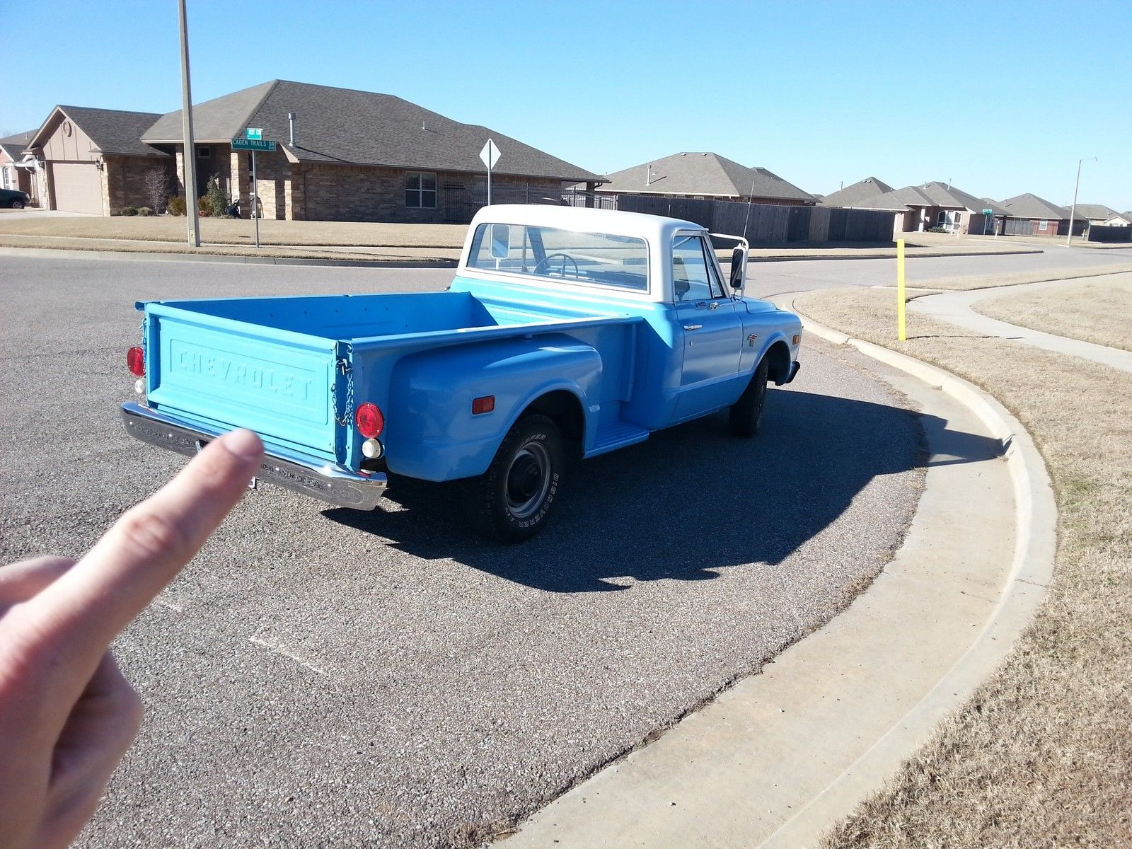 1968 Chevy C10 Long Bed Stepside Pickup Truck Rare Very Original Chevrolet C 10