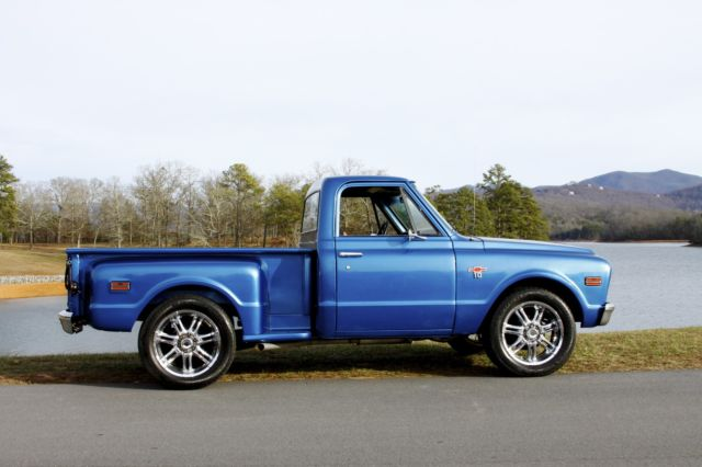 1968 Chevy C10 Short Bed Step Side Pickup V8 5 Speed Manual