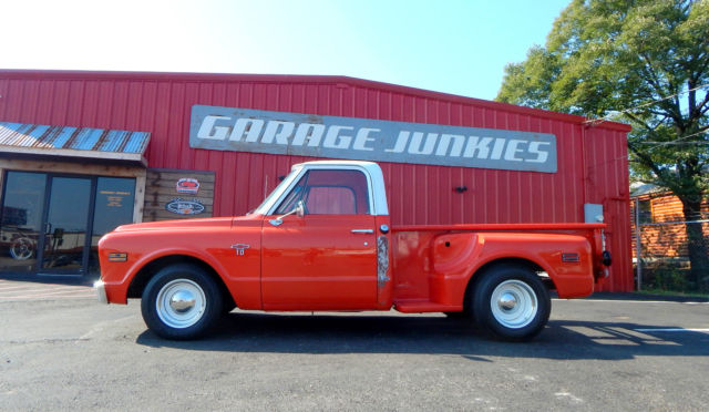 1968 chevy c10 stepside shortbed classic pickup truck for sale in tyler texas united states. Black Bedroom Furniture Sets. Home Design Ideas