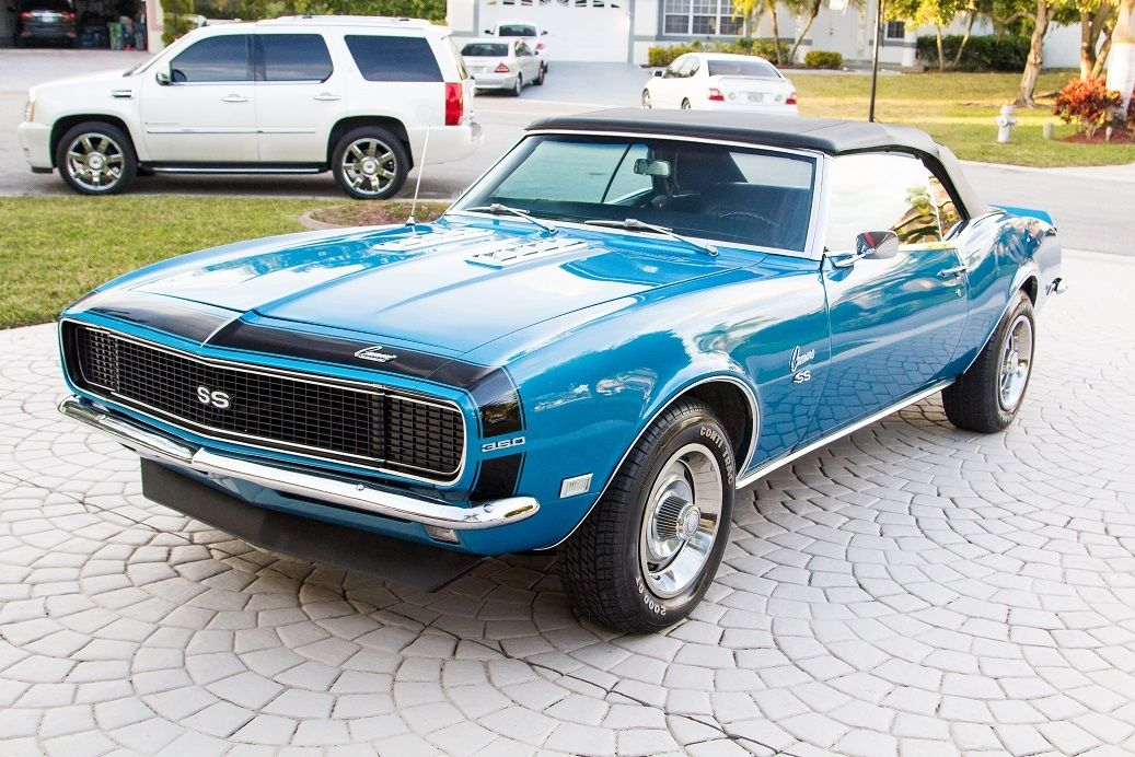 1968 chevy camaro convertible rs ss 4spd factory ac 350 v8 pwr str brks 67 69 for sale in. Black Bedroom Furniture Sets. Home Design Ideas