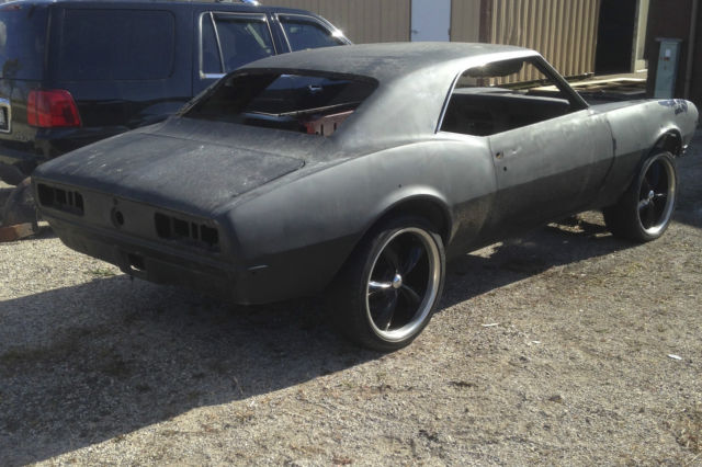 1968 Camaro Project For Sale >> 1968 Chevy Camaro Roller Project Car Z28 Ss 350 396 Copo 67