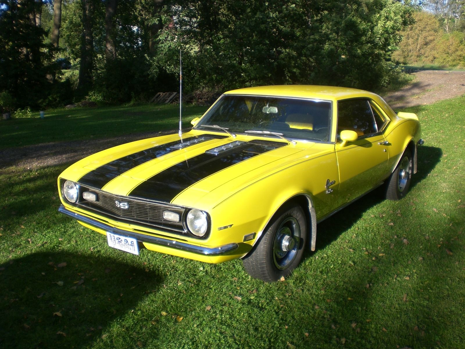 1968 Chevy Camaro Ss Restored In 1980 With Gm Panels Not Chinese 1976 Yellow Chevrolet 350