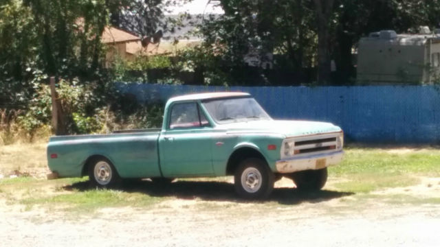 1968 chevy long bed patina c 10 half ton bagged truck for for West chevrolet airport motor mile