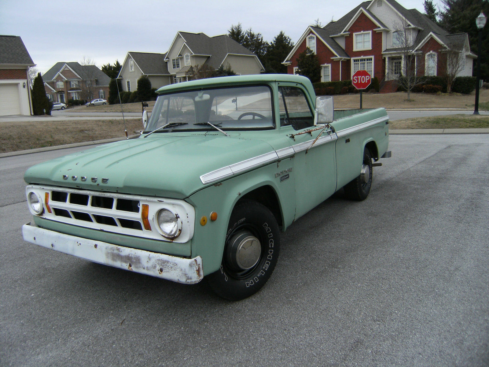 1968 DODGE D200 CAMPER SPECIAL, ONE OWNER W/ONLY 57,000 ACTUAL MILES. RARE FIND! for sale in ...