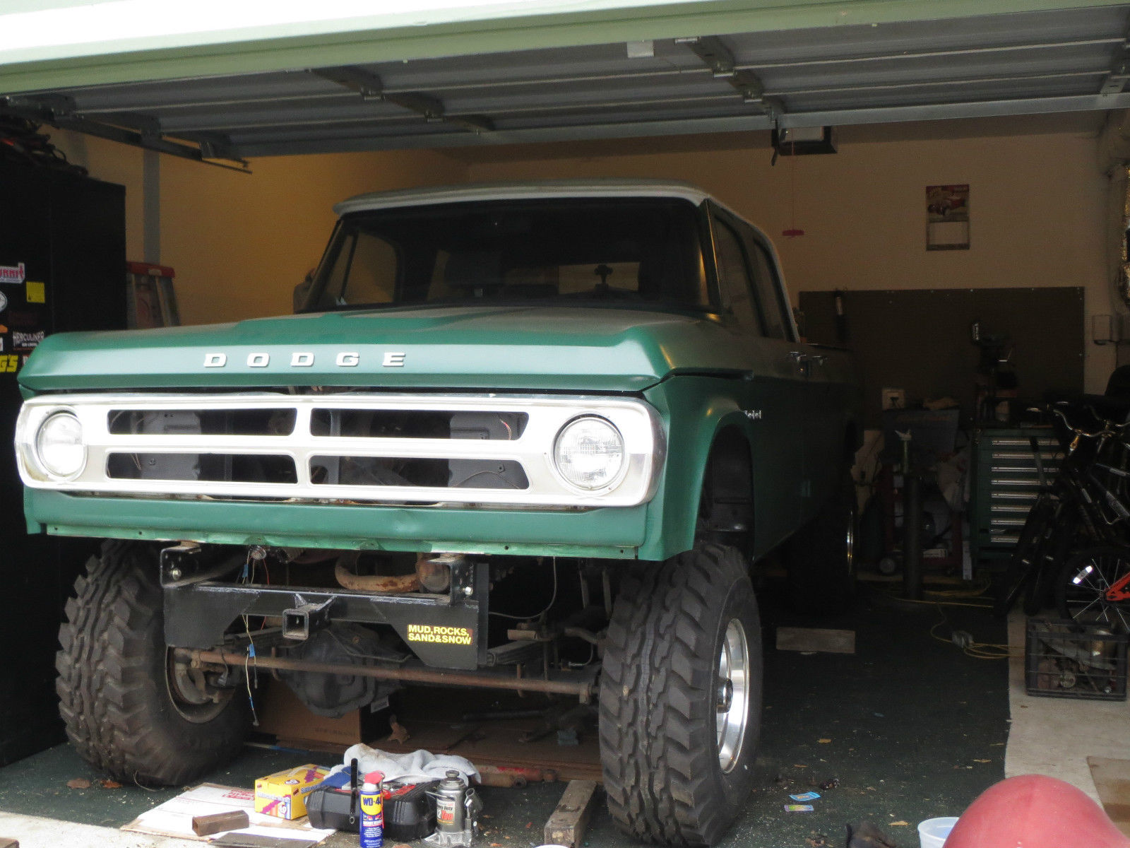 1968 Dodge Power Wagon Crew Cab Pickup for sale in Yelm ...