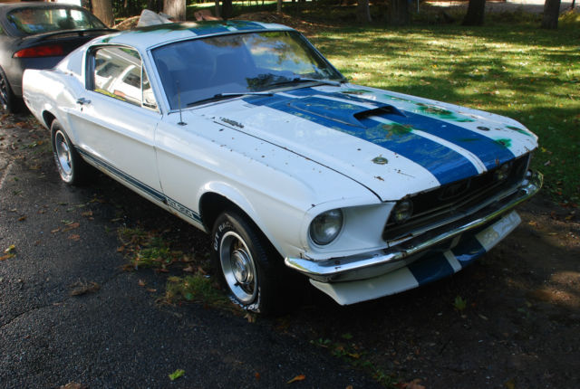 1968 Fastback Mustang 2 2 Project Car Barn Find Factory