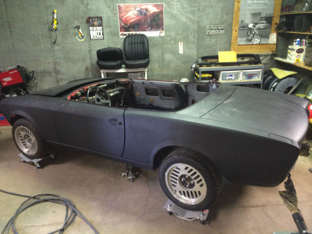 1968 fiat 124 spider project car for sale in nashua new. Black Bedroom Furniture Sets. Home Design Ideas