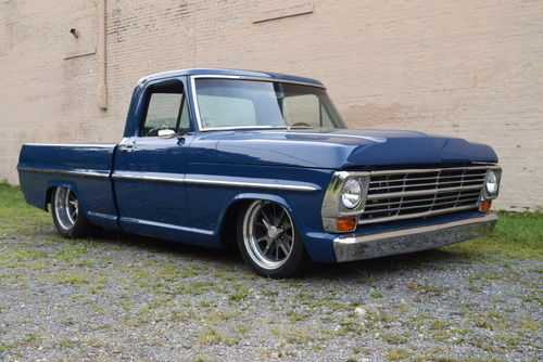 1968 Ford F100 Seams Removed Custom Trim Lowered G