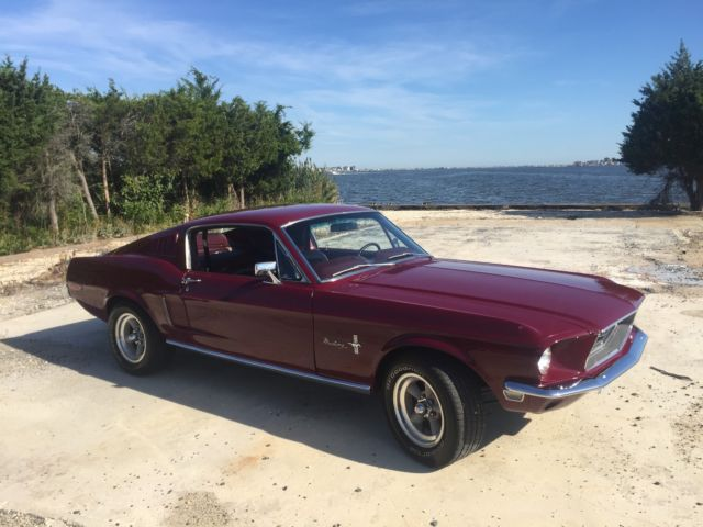 1968 Ford Mustang Fastback 289 AOD OVERDRIVE FULLY RESTORED