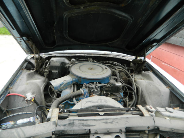 1968 Ford Thunderbird 429 Thunderjet Motor And C6