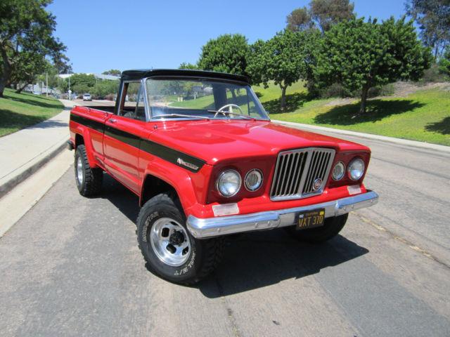 1968 Jeep Gladiator Kaiser J2000 Pick Up Truck Rare