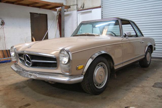 1968 Mercedes Benz 280sl W113 230sl 250sl Hardtop
