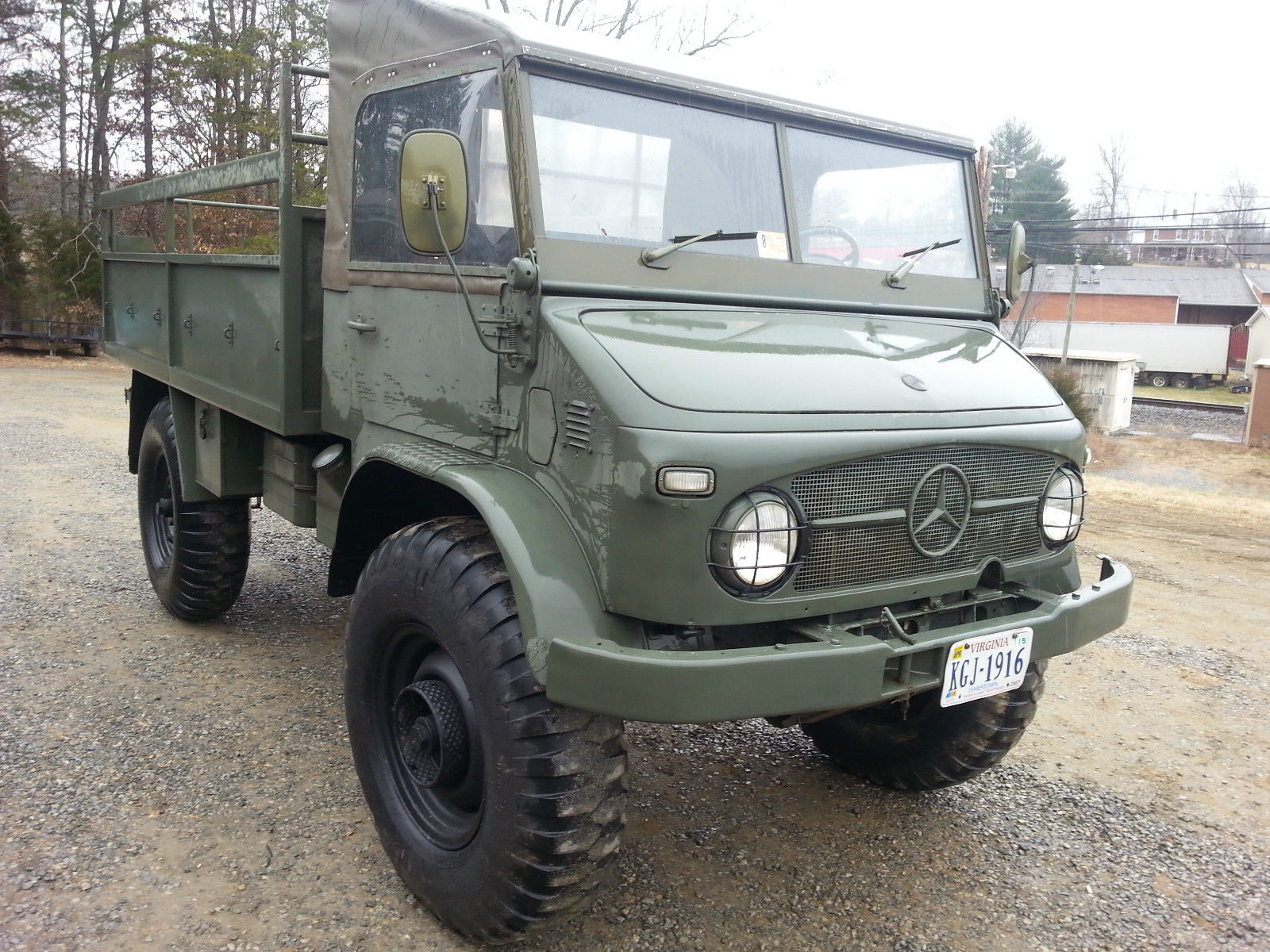 1968 mercedes benz unimog 404 swiss army truck for sale in Rocky