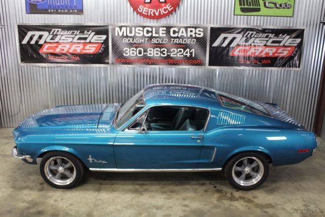 1968 Mustang 17 Wheels
