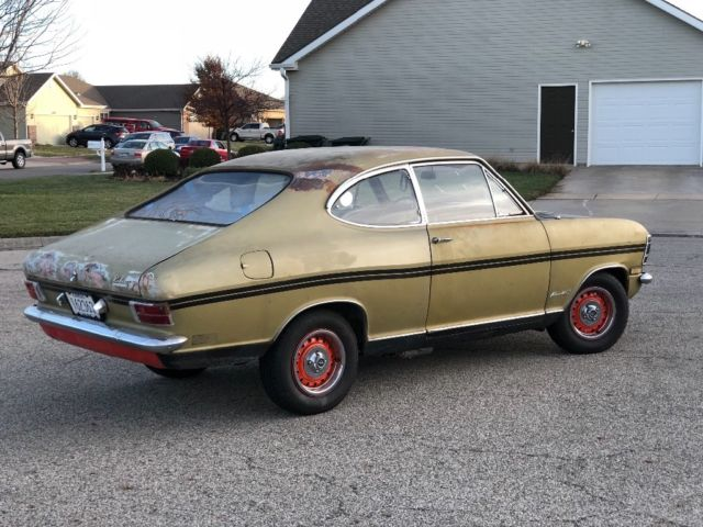 1968 opel kadett rallye runs drives project w parts car bring a trailer. Black Bedroom Furniture Sets. Home Design Ideas